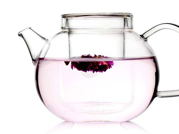 Handmade Glass Teapot with Tea Infuser
