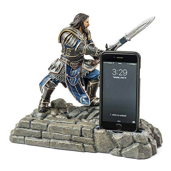 Warcraft Lothar Figural Charging Station