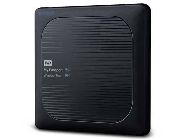 WD My Password Pro Wireless External Hard Drive