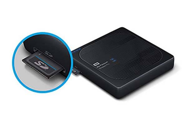 WD My Password Pro Wireless External Hard Drive