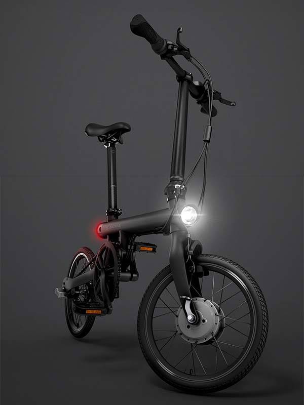 xiaomi qicycle folding electric bike boasts 250w motor. Black Bedroom Furniture Sets. Home Design Ideas
