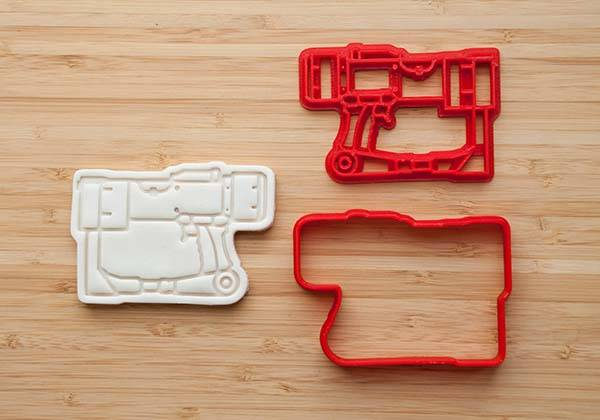 3D Printed Fallout Cookie Cutter Series