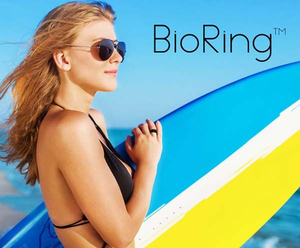 BioRing Smart Ring Tracks Your Fitness, Stress, and Nutrition