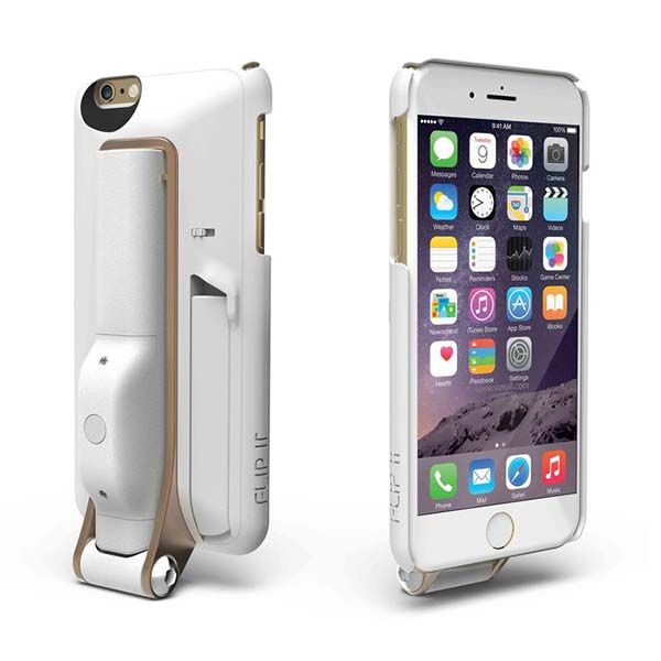The iPhone 6s Case with Removable Selfie Stick and Bluetooth Remote