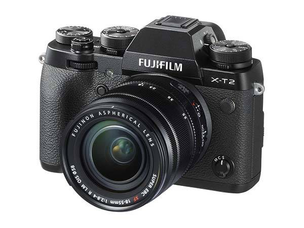 Fujifilm X-T2 Interchangeable Lens Mirrorless Camera