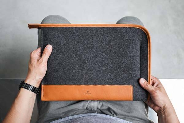 Handmade Grapher Folio iPad Pro Case with Apple Pencil Holder