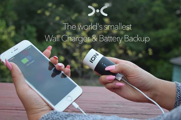 ION X Core Smart Wall Charger with Power Bank
