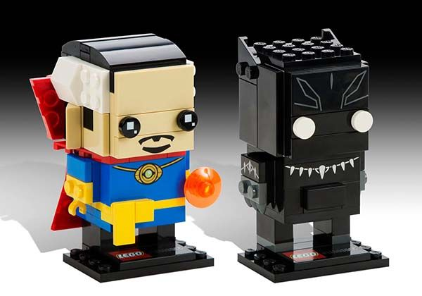 LEGO BrickHeadz Lets You Build Pixelated Superheroes and Characters