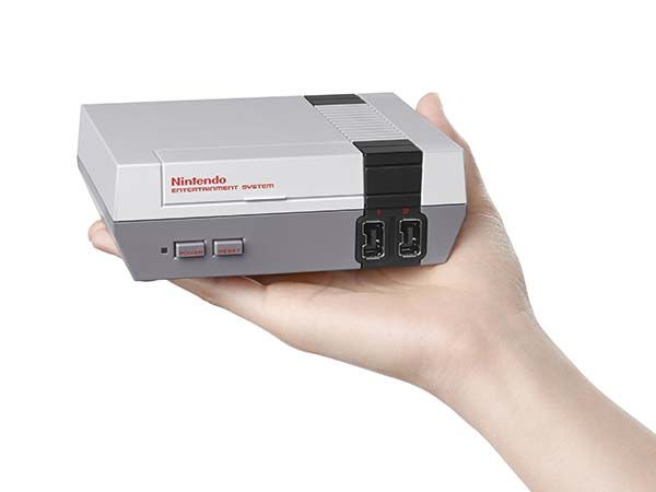 Mini NES Class Edition Game Console with 30 Retro Games