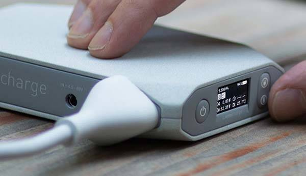 Omnicharge Compact Power Bank with Power Outlet