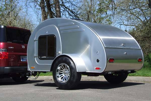 Oregon Trail R Frontear Teardrop Camping Trailer Gadgetsin