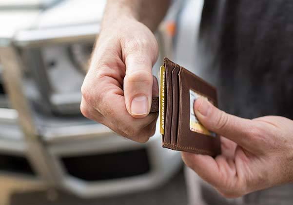 Midtown Leather Slim Wallet