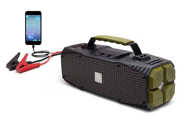 Survivor 30W Bluetooth Speaker with Jump Starter