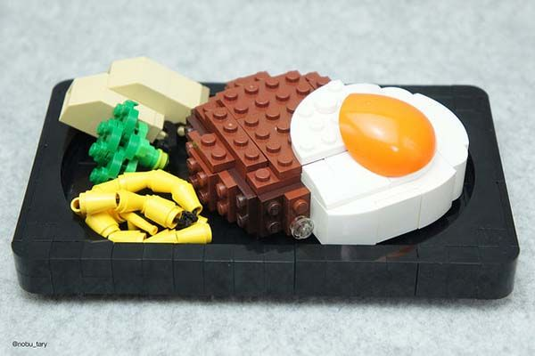 Detailed LEGO Dishes