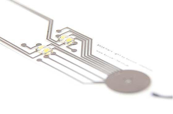 LED Integrated Bookmark Light