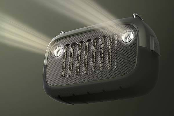 The Concept Outdoor Bluetooth Speaker Inspired Jeep