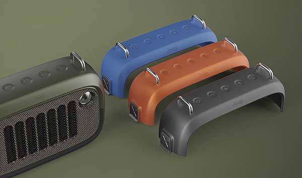 The Jeep Inspired Outdoor Waterproof Bluetooth Speaker