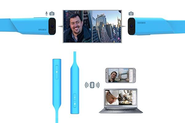 Link Flexible Action Camera for Broadcasting