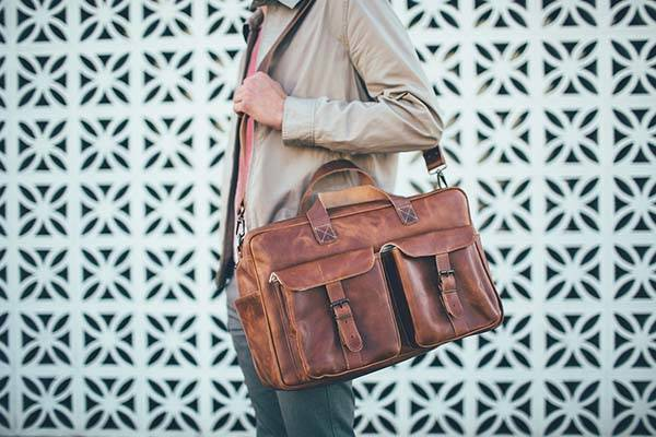 The Ryan Traveler Leather Bag