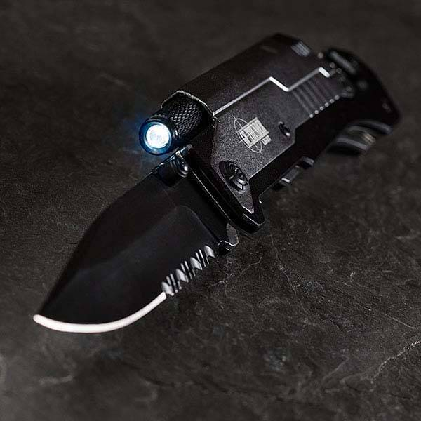 Thunder Pocket Knife with Multiple Survival Tools