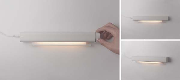 The Window Concept Portable and Flexible LED Lamp