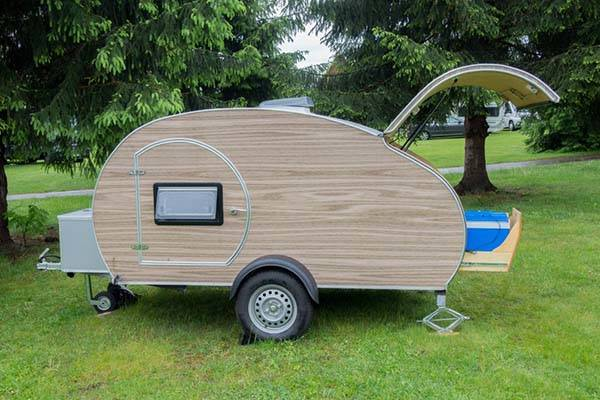 Tinycamper Mini Teardrop Camping Trailer