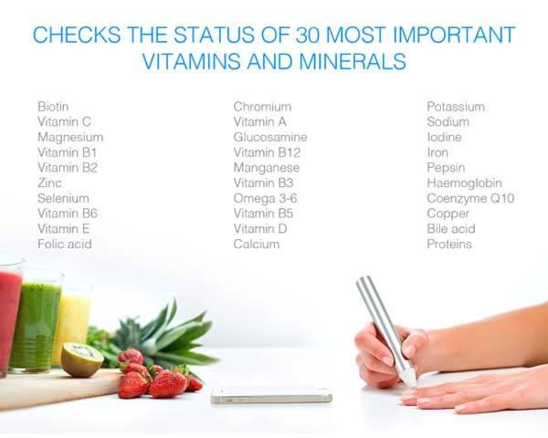 Vitastiq 2 Smart Tracker Tracks Your Vitamin and Mineral Status