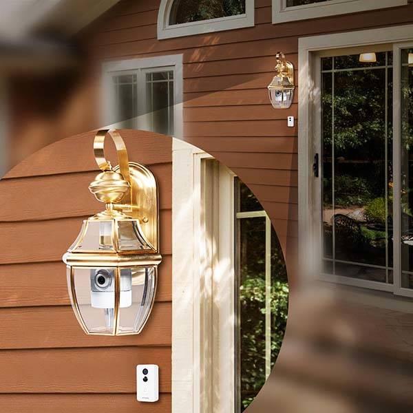 Zmodo Torch Pro Smart Door Light and Doorbell