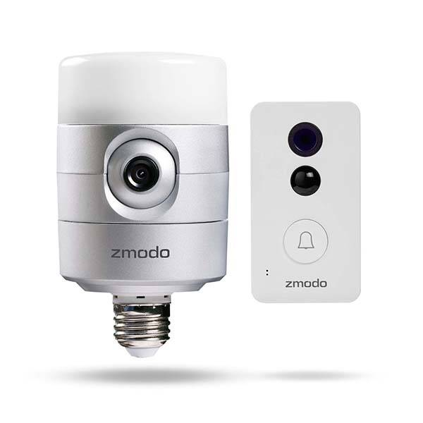 Zmodo Torch Pro Smart Door Light and Doorbell