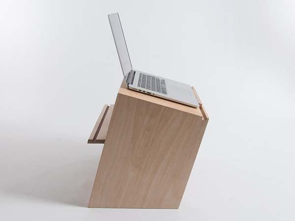 Bee9 Handmade Wooden Standing Desk