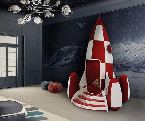 Circu Rocky Rocket Armchair Adds Retrofuturism In Your