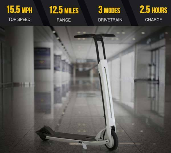 CityGo Urban App-enabled Foldable Electric Scooter