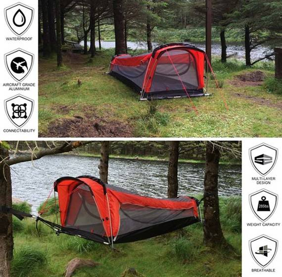 Crua Hybrid Tent and Hammock