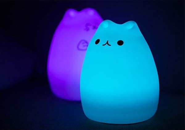 Cutie Cat Portable USB LED Lamp | Gadgetsin