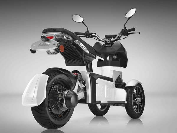 Doohan EV3 iTank 3-Wheel Electric Scooter