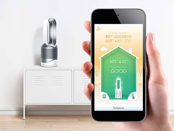 Dyson Pure Hot Cool Link App Enabled Fan With Air Purifier