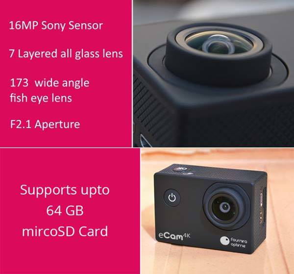 eCam 4K Mini Camera
