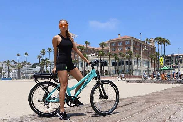 Flaunt Electric Bike Boasts 500W Hub Motor and 6 Levels of Pedal Assist