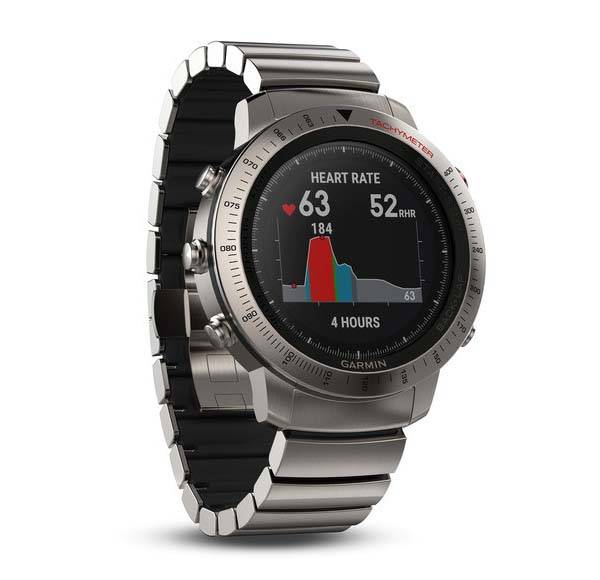 Garmin fēnix Chronos GPS Smartwatch with Fitness Tracker