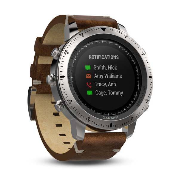 Garmin Fenix Chronos Gps Smartwatch With Fitness Tracker And Heart Rate Monitor on battery monitor