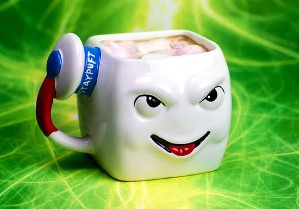 Ghostbusters Stay Puft Marshmallow Man Coffee Mug Gadgetsin