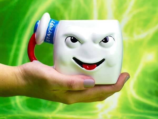 Ghostbusters Stay Puft Marshmallow Man Ceramic Coffee Mug