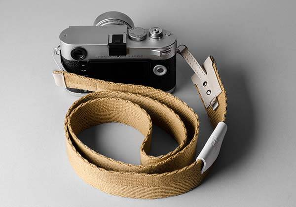 Hard Graft Blend Camera Strap with Leather Accents