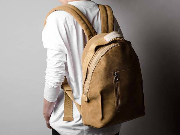 b97bad9764 Hard Graft Volume One Leather Backpack