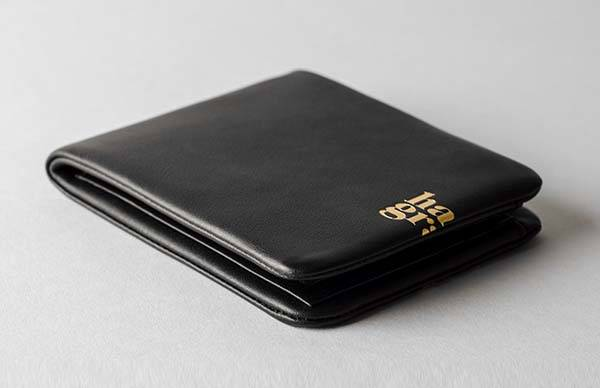 Hard Graft Zip Bifold Leather Wallet