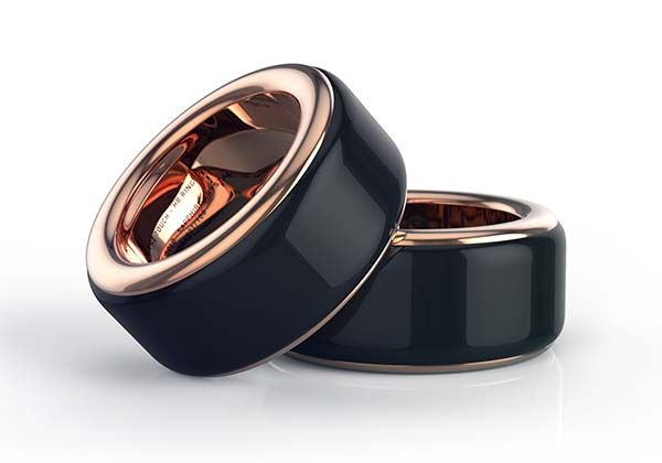 HB Ring with Built-in Heart Rate Sensor