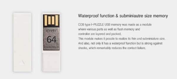 iRiver Puzzle Game Integrated USB Flash Drive