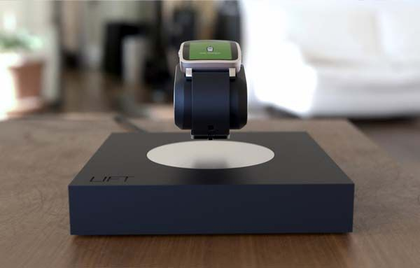 Lift Levitating Charging Station for Apple Watch and Peddles