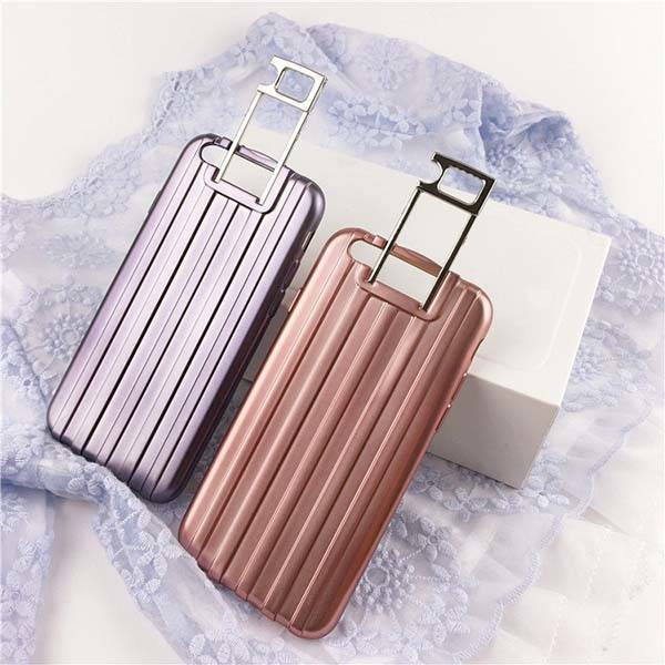 Luggage iPhone 6s Case with Retractable Stand