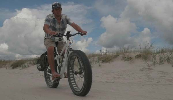 M2s Bikes All Terrain Electric Bike With 750w Motor Fat Tires And